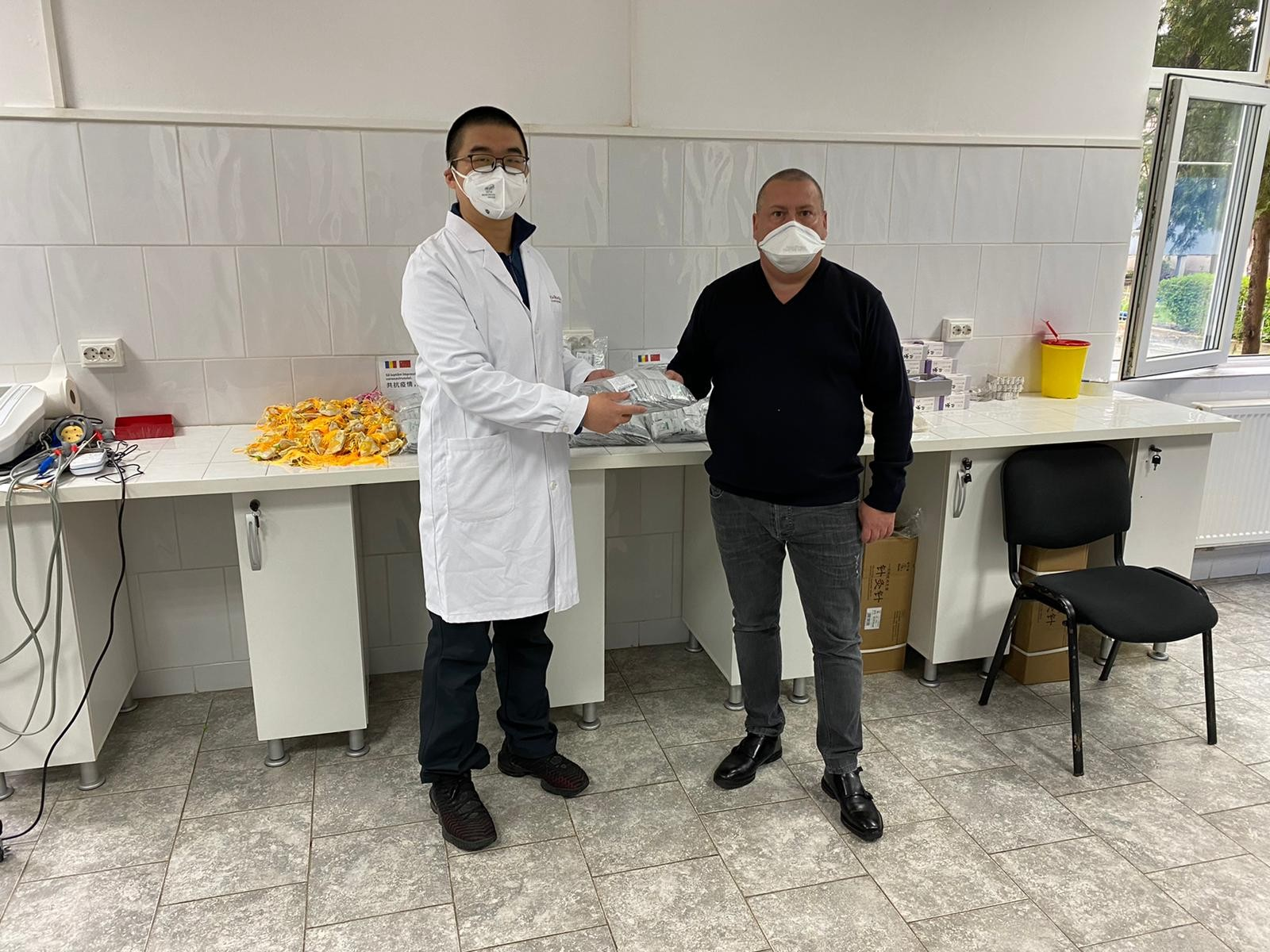 UVVG a primit din partea Universității de Medicină Chineză din Zhejiang mai multe tipuri de ierburi care întăresc sistemul imunitar