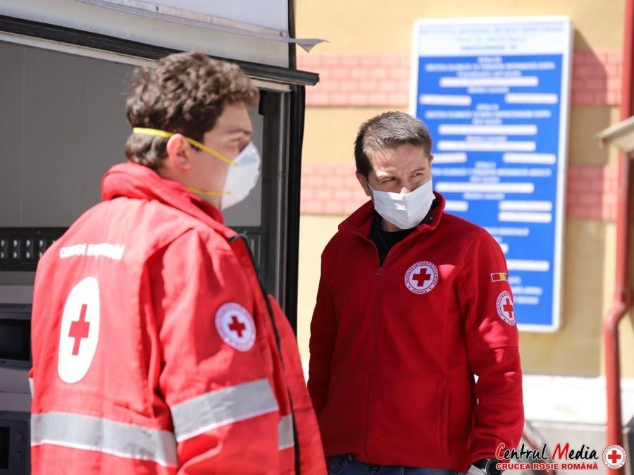 """""""România salvează România"""". Echipamente medicale de aproape 4 milioane de euro achiziționate de Crucea Roșie Română în timpul pandemiei"""