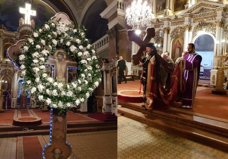 Joia Mare, ziua în care Dumnezeu a fost răpus de iubire. Denia celor 12 Evanghelii, la Catedrala Veche din Cetatea Aradului