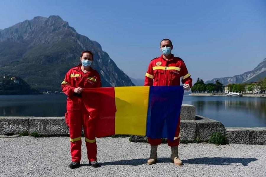 """Medic român aflat în misiune în Italia: """"Această boală nu face diferențe când alege victimele, diferența în schimb o putem face noi în fiecare zi"""""""