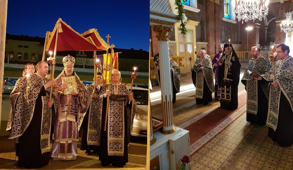 Vinerea Mare, ziua în care L-am răstignit pe Dumnezeu. Denia Prohodului, la Catedrala Veche din Arad