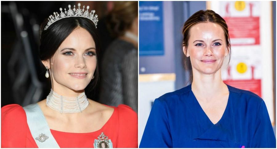 Prințesa Sofia a Suediei a urmat un curs medical pentru a lucra în spital cu pacienții COVID-19