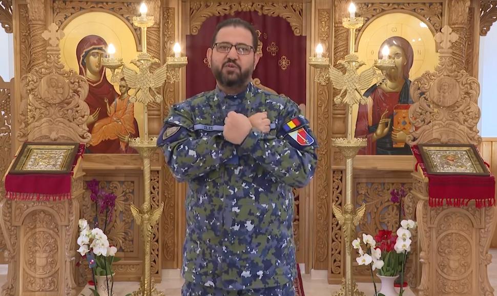 """Părintele Ilie Mirel, ostașul cu două uniforme: """"Mergeți mai încet!"""", cred că acesta este mesajul lui Dumnezeu în această pandemie"""