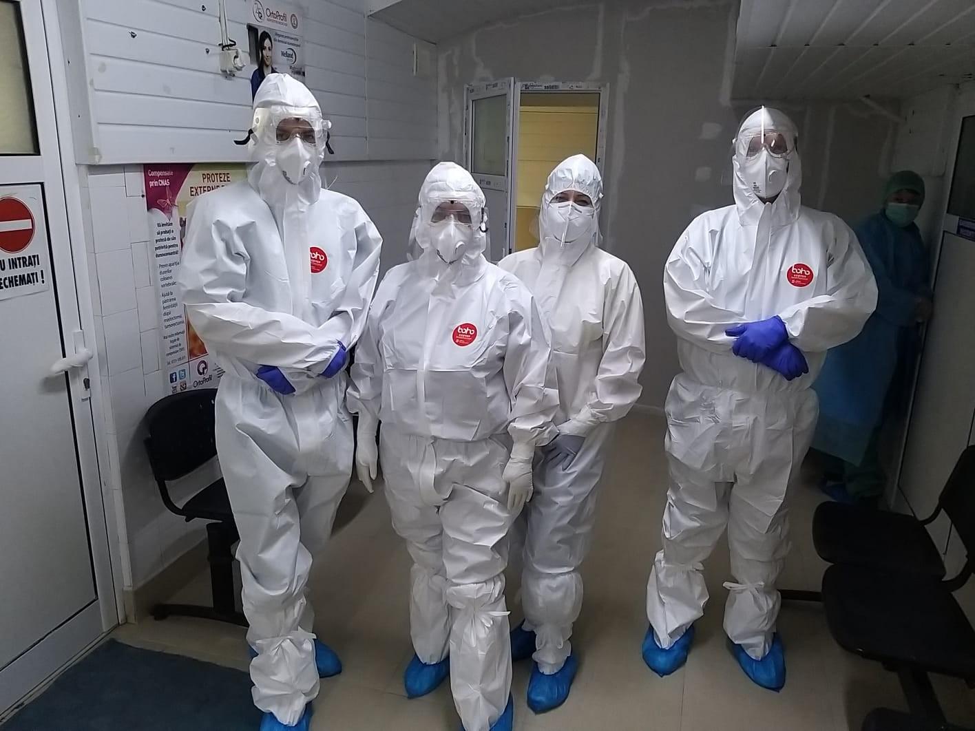 11 intervenții chirurgicale, efectuate la Arad, la persoane suspecte sau confirmate cu COVID-19