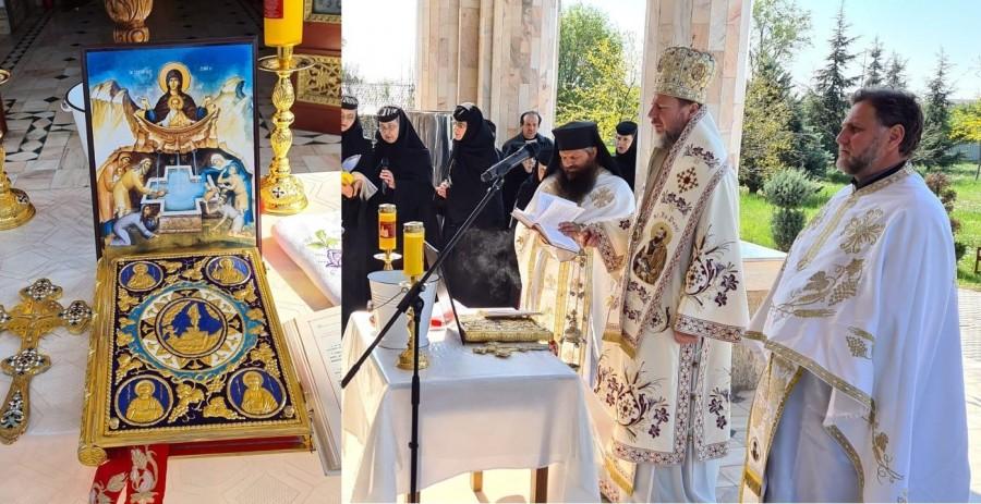 """PS Emilian Crișanul, de Izvorul Tămăduirii: """"Să fim recunoscători lui Dumnezeu, Maicii Domnului, Sfinților și celor care îi ajută pe cei bolnavi, singuri sau săraci"""""""