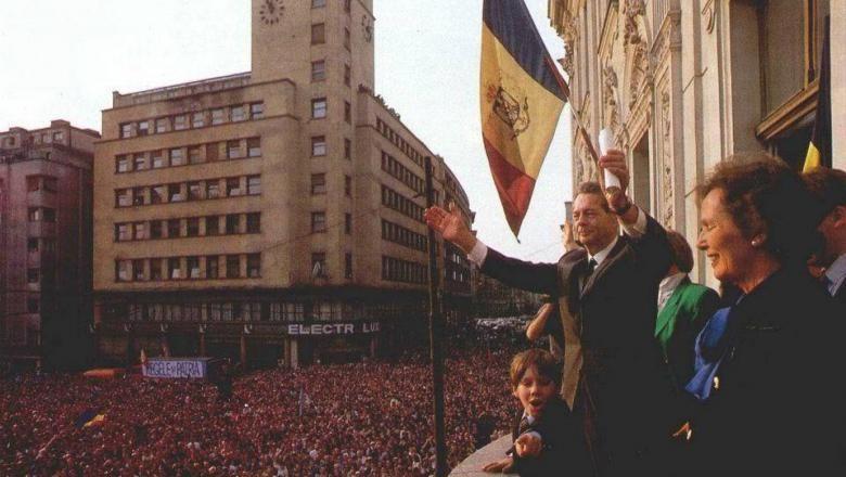 """Regele Mihai, în primăvara anului 1992: """"Am regăsit poporul pe care l-am iubit întotdeauna"""""""