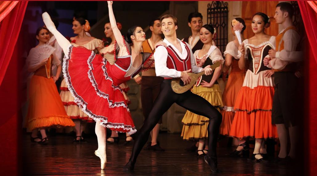 """Premiera spectacolului """"Don Quijote"""" poate fi vizionată gratuit pe site-ul ONRI, de Ziua Internațională a Dansului"""