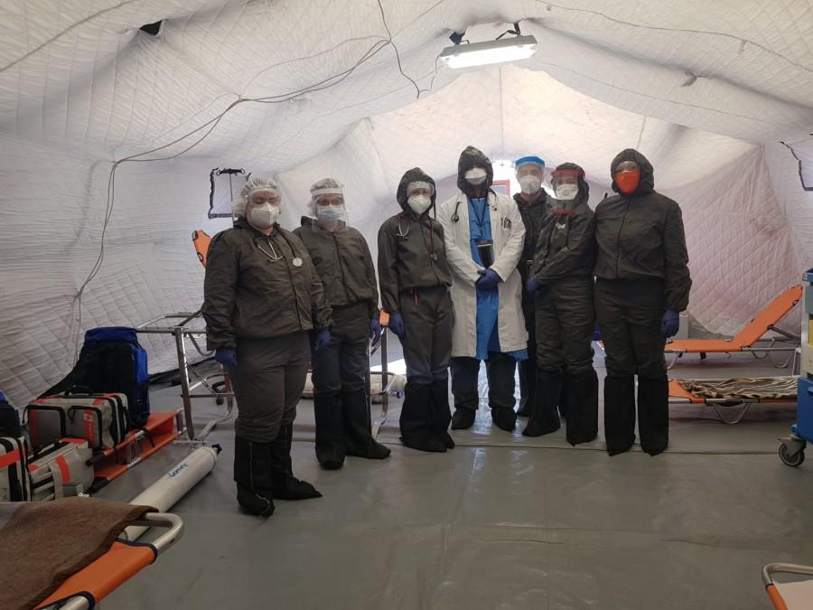 Coronavirus Arad. Încă 13 pacienți au fost vindecați și externați astăzi de pe secțiile COVID-19