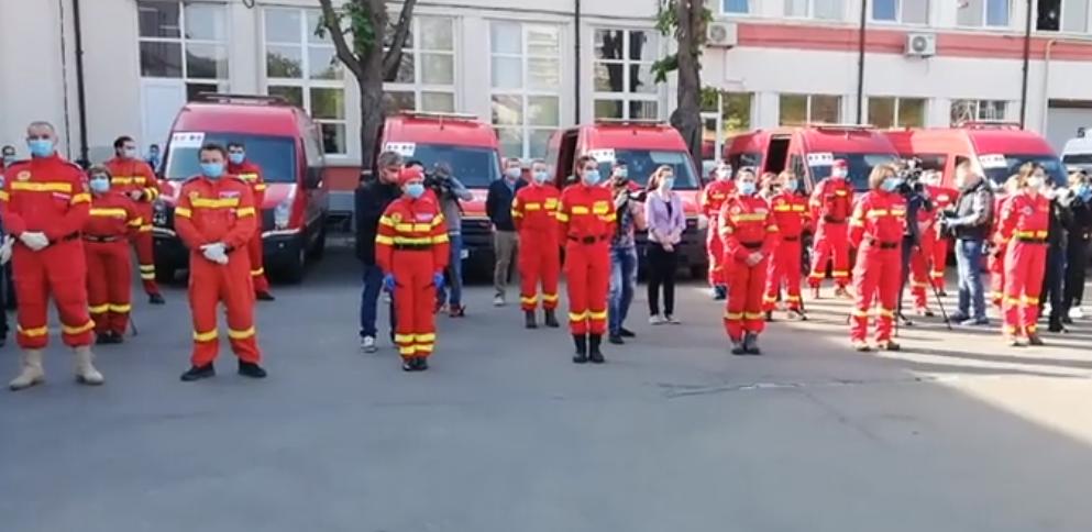 O echipă de 42 de medici și asistenți români pleacă în misiune în Republica Moldova