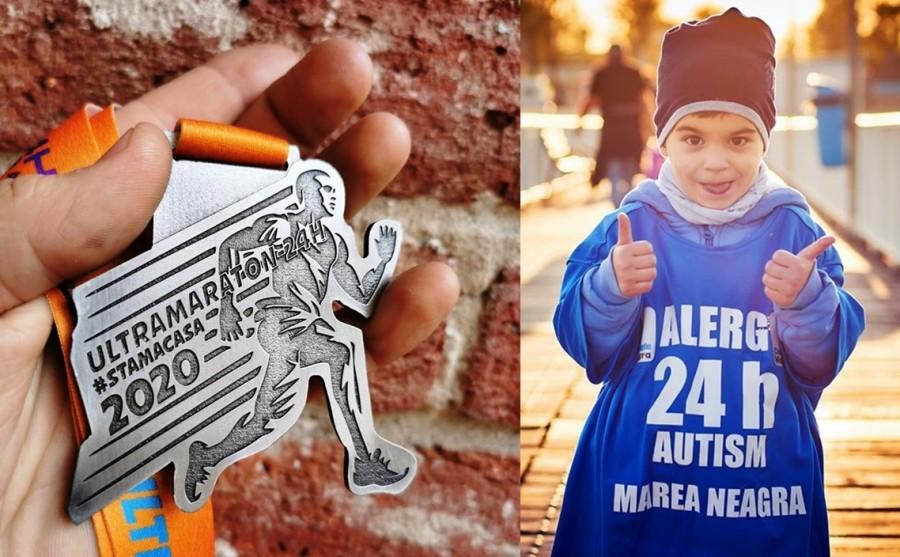 Ultramaratonul Autism24h. Pentru prima dată în istoria competiției, participanții vor alerga în propriile locuințe