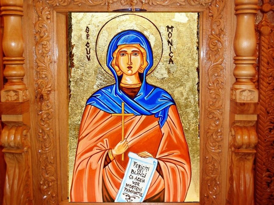 Sfânta Cuvioasă Monica, mama Fericitului Augustin