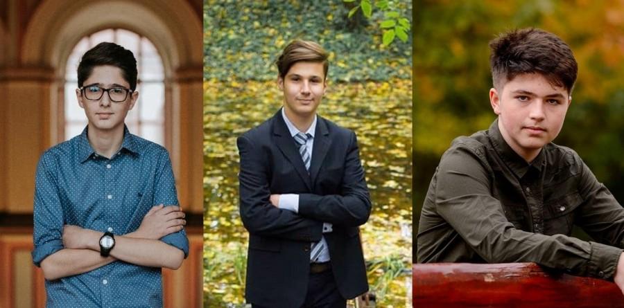"""Călin, Raul și Andrei - cei trei elevi arădeni calificați în etapa națională a Olimpiadei de informatică aplicată """"AcadNet 2020"""""""