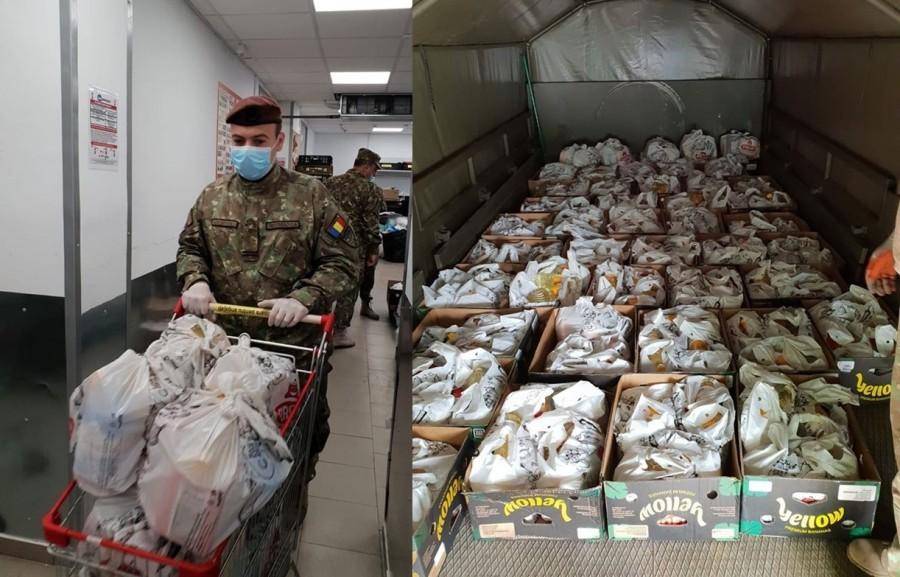 Sute de pachete alimentare vor ajunge la veteranii și văduvele de război din Arad și alte județe