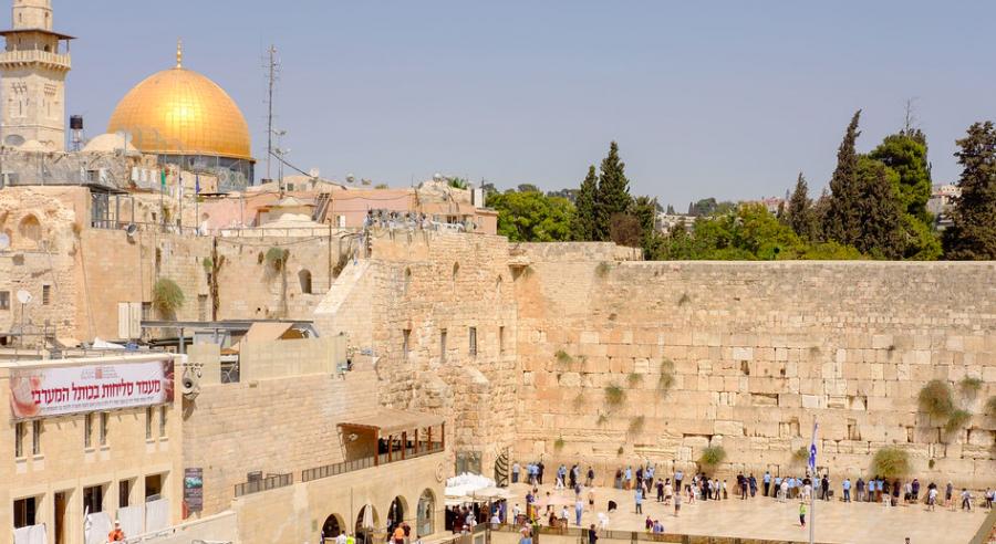 Zidul Plângerii din Ierusalim, redeschis pentru rugăciuni