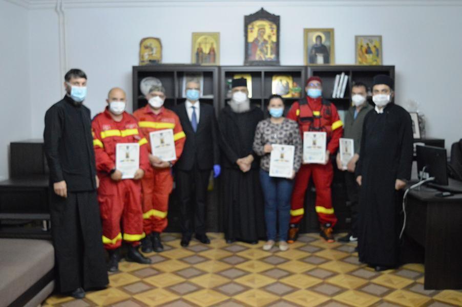 """Episcopul de Bălți a mulțumit medicilor români """"pentru dragostea față de frații basarabeni în timpul pandemiei"""""""