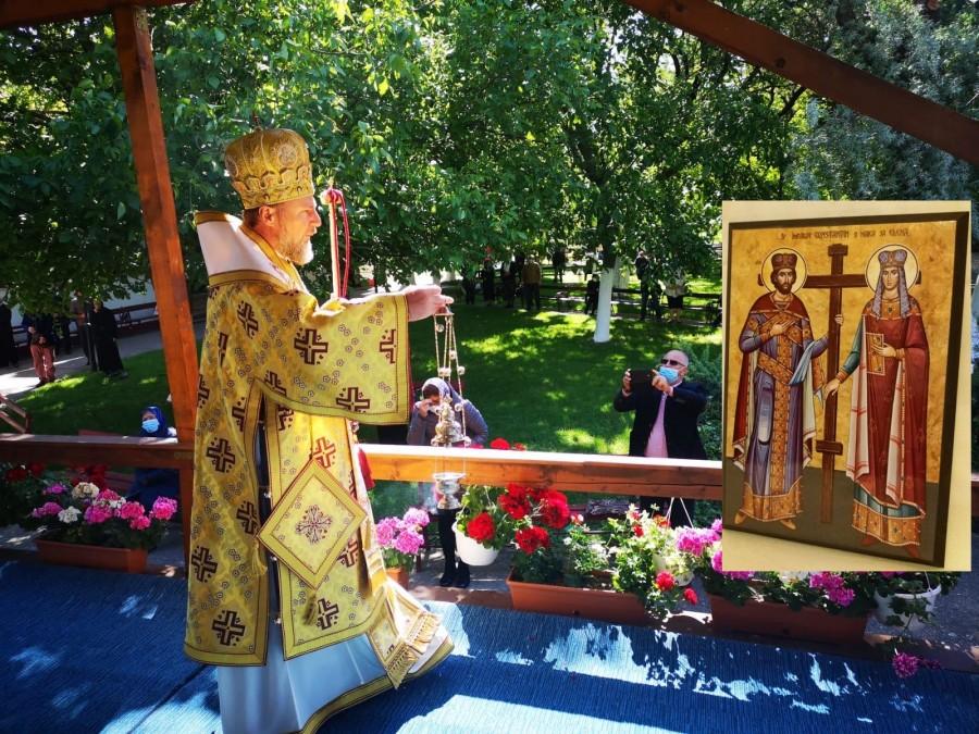 """PS Emilian Crișanul: """"Sărbătoarea Sfinților Împărați Constantin și Elena, moment de reflecție asupra libertății ca dar de la Dumnezeu"""""""