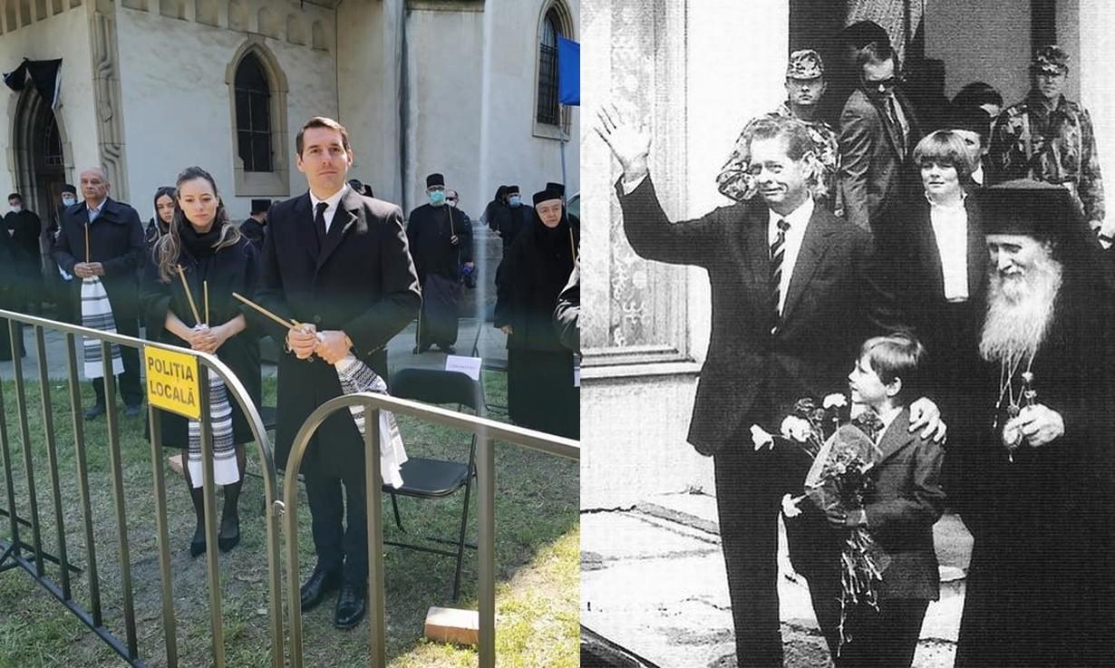 Principele Nicolae, prezent la slujba de înmormântare a Arhiepiscopului Pimen al Sucevei şi Rădăuţilor