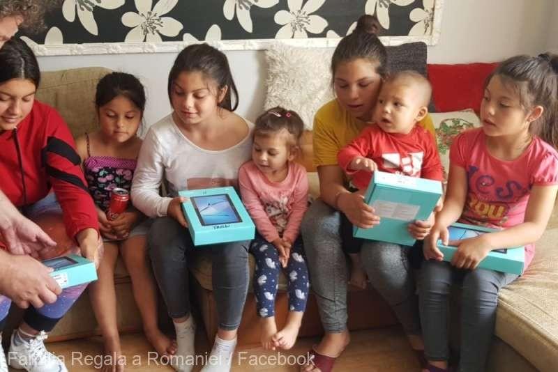 Peste 500 de copii, ajutați de Fundația Regală Margareta a României să aibă acces la educația online