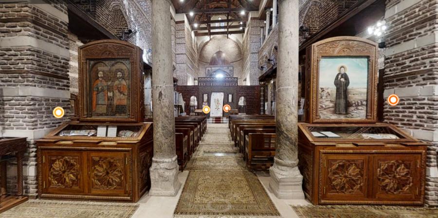 Cea mai veche biserică din Egipt poate fi vizitată online