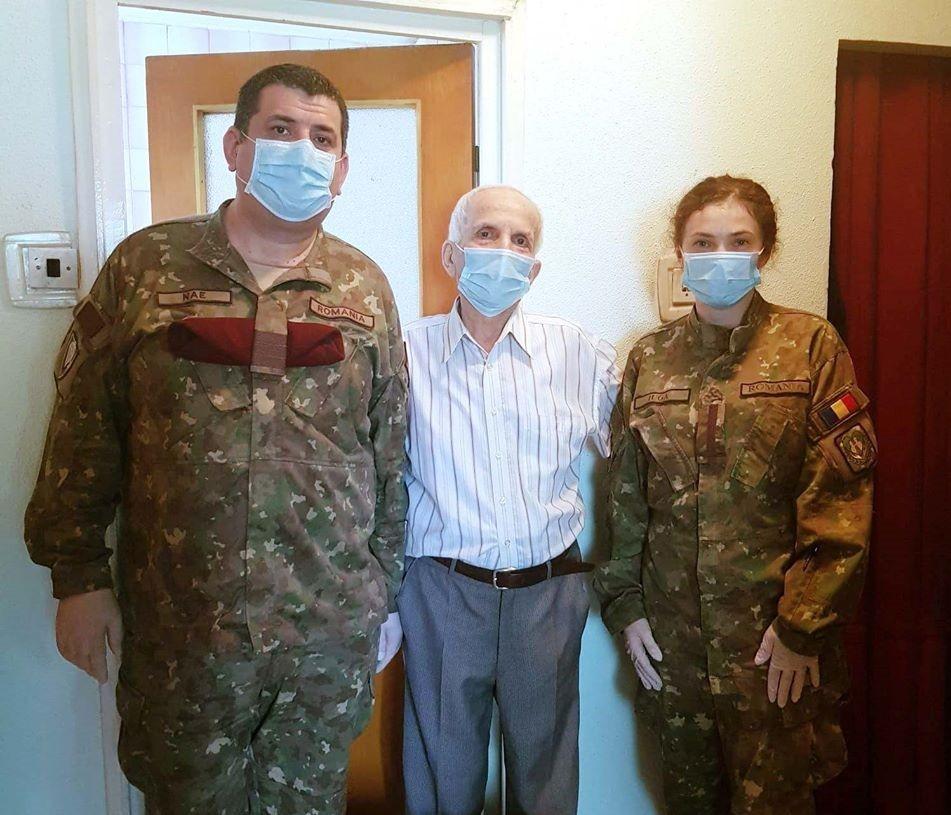 """Veteranul de război Ștefan Ceauș, la 99 de ani: """"Când eram pe front, cel mai greu a fost cu gerul și foamea"""""""