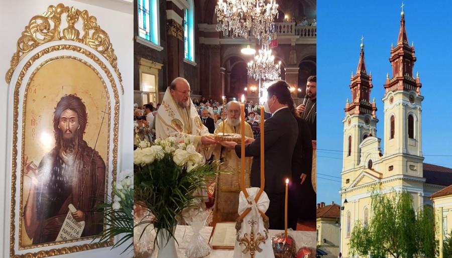 Nașterea Sfântului Ioan Botezătorul. Catedrala Veche din Cetatea Aradului și-a serbat hramul în prezența Ierarhilor arădeni
