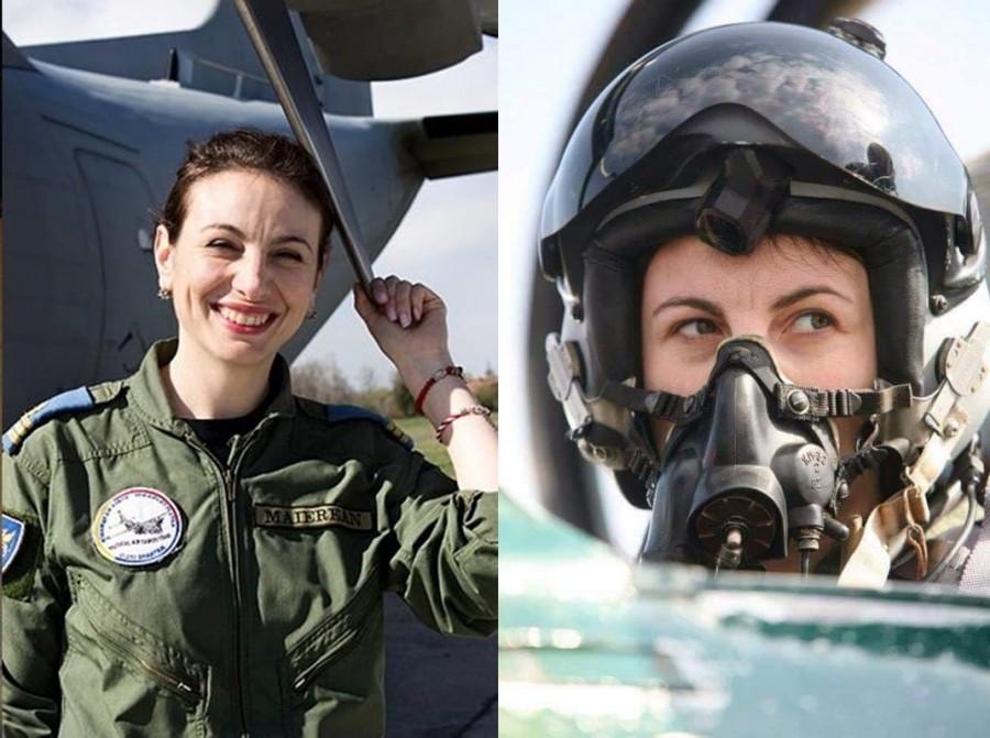 Are 36 de ani și este Prima Femeie din Europa care a obținut certificarea de pilot comandant de aeronavă din Grupul de Transport Aerian Strategic al SAC