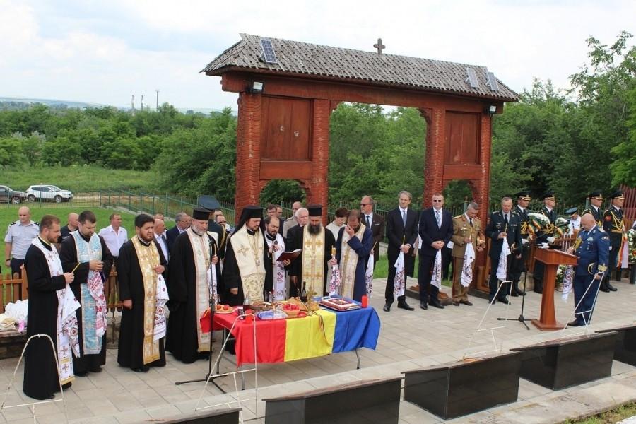 Parastas pentru eroii români de la Țiganca, la 80 de ani de la ocuparea Basarabiei de către trupele sovietice