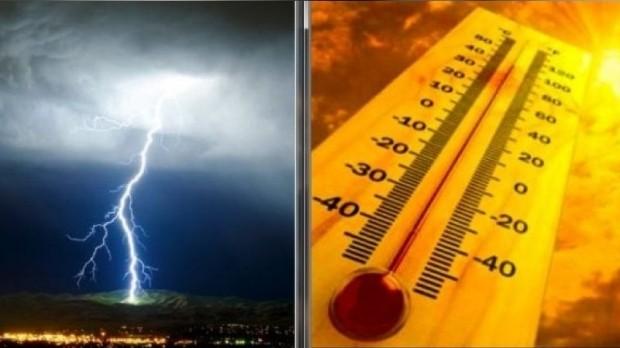 România, între caniculă și furtuni. Au fost emise patru Coduri portocaliu și galben