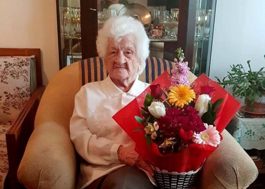 """Văduva de război Sofia Smaranda, sărbătorită la împlinirea vârstei de 100 de ani. """"Toată viața am sperat că se va întoarce de pe front"""""""