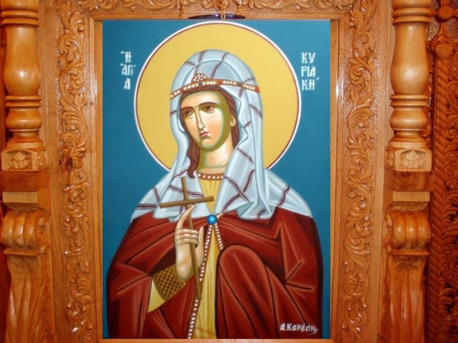 Sfânta Mare Muceniță Chiriachi, exemplu de statornicie în credință