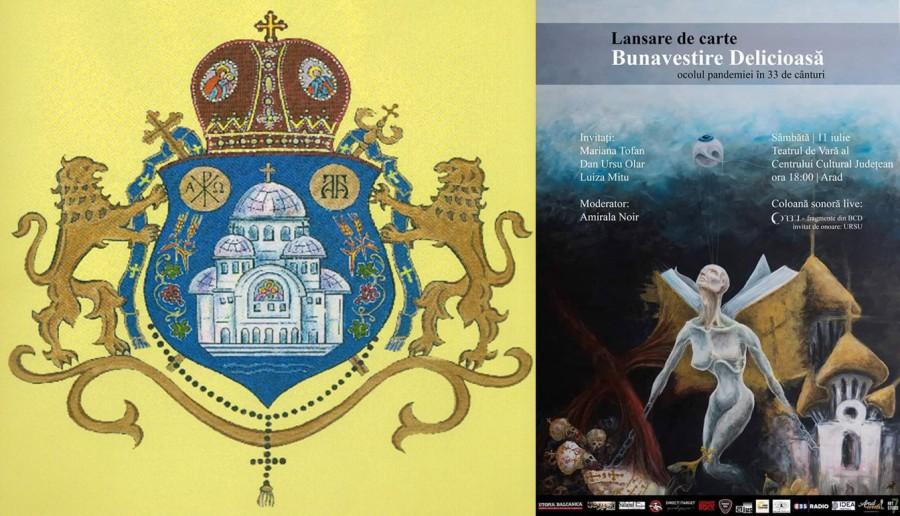 """Arhiepiscopia Aradului, reacție față de lansarea în spațiul arădean a unei cărți """"care ocolește adevărul"""""""