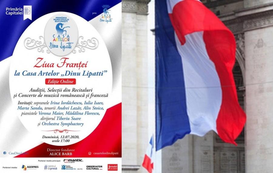 """Ziua Franţei va fi celebrată duminică, online, la Casa Artelor """"Dinu Lipatti"""""""