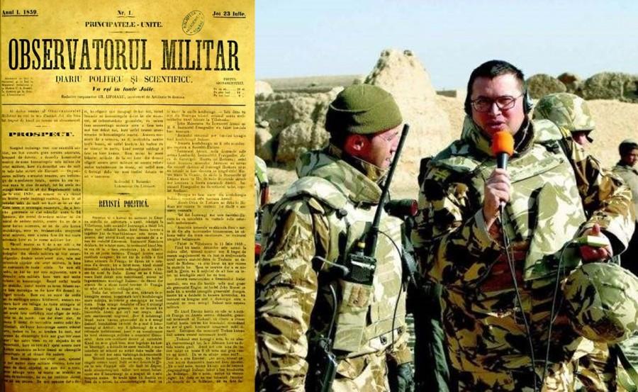 Ziua Presei militare. 161 de ani de la apariția primei publicații militare din România