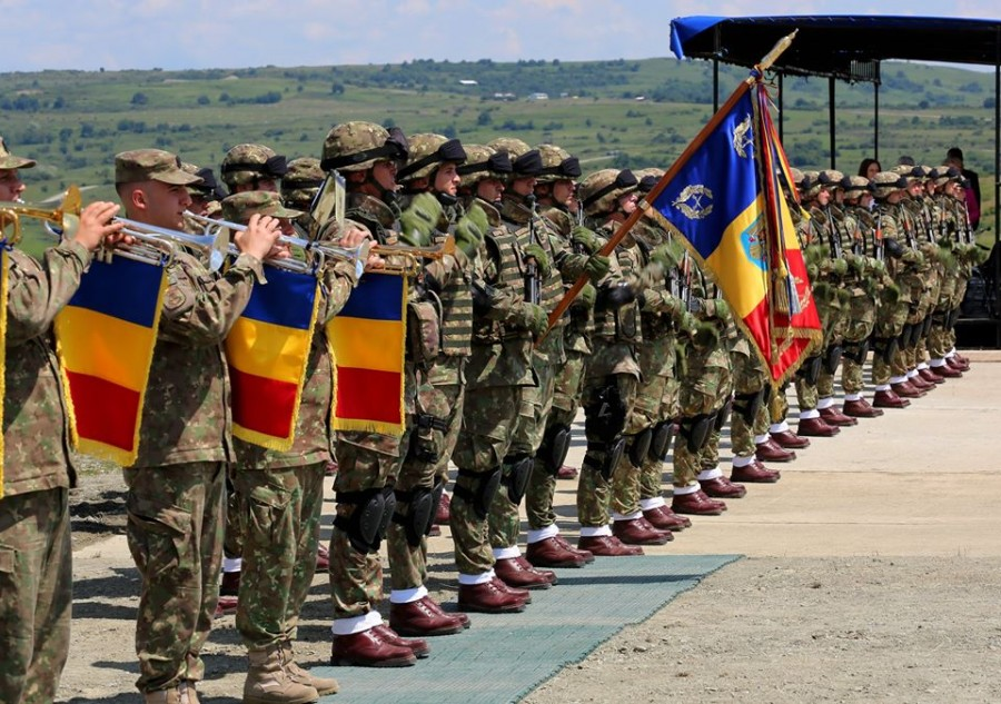 Astăzi a avut loc ceremonia de înființare a Comandamentului Corpului Multinațional Sud-Est