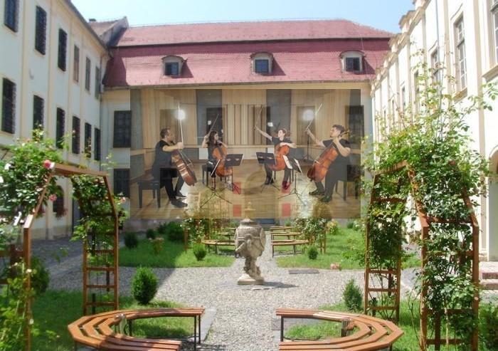 Concerte simfonice în curtea Palatului Brukenthal, la 300 de ani de la naşterea baronului Samuel von Brukenthal
