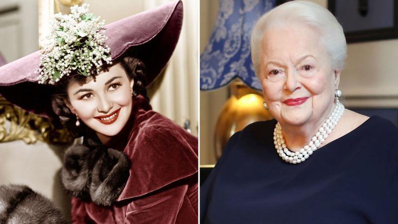 """Olivia de Havilland, cunoscută din filmul """"Pe aripile vântului"""", a încetat din viață la 104 ani"""