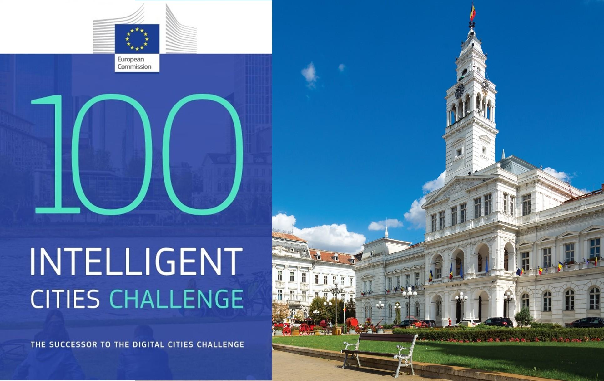 """Aradul a fost selectat în programul """"100 Intelligent Cities Challenge"""", lansat de Comisia Europeană"""