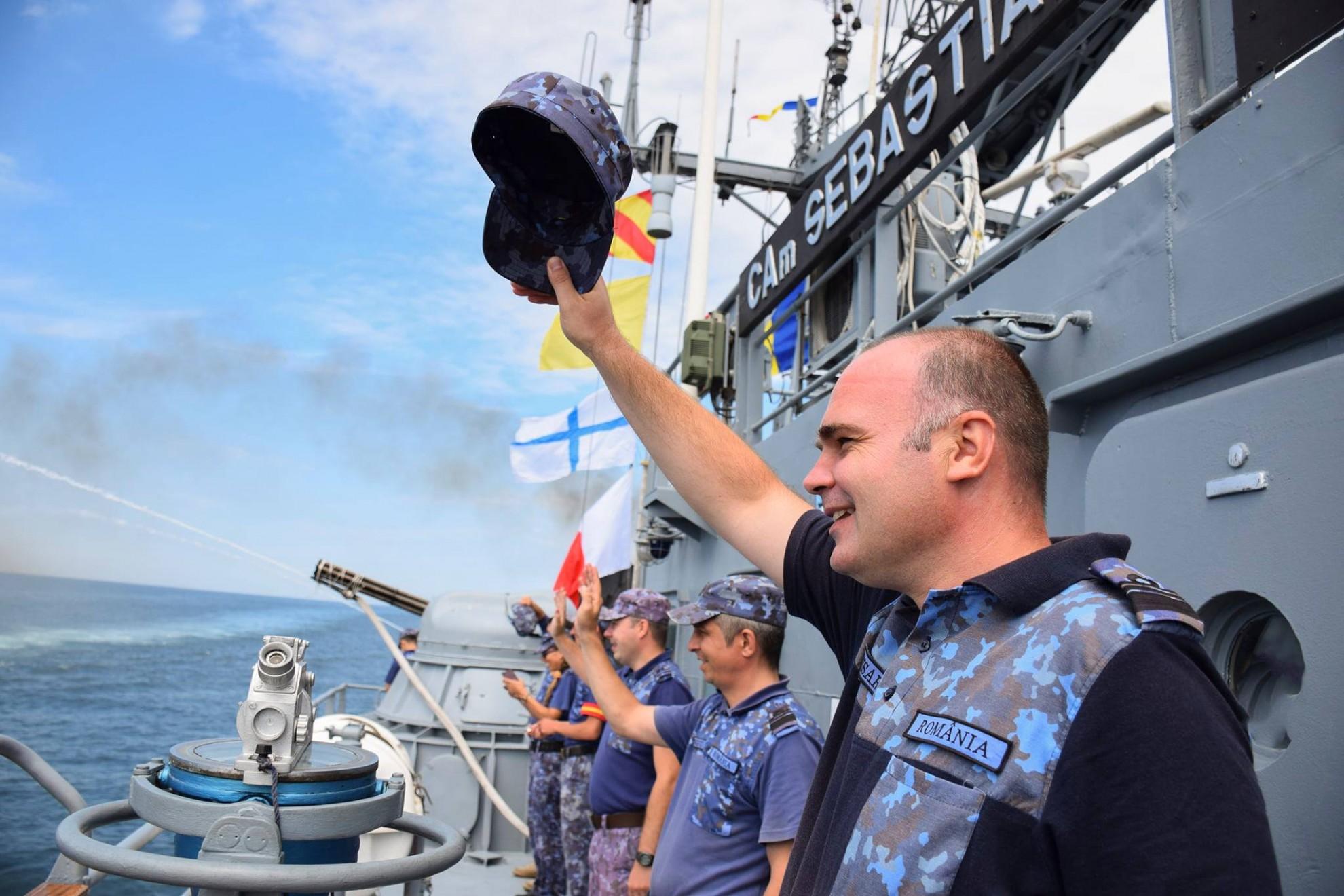 """Exerciţiul multinaţional """"Sea Breeze 20"""" în Marea Neagră, la final"""