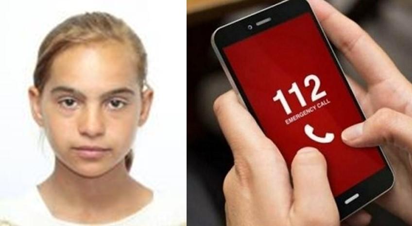Larisa are 15 ani și a dispărut de la domiciliu. Dacă o vedeți, sunați la 112!