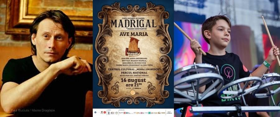 Actorul Marius Manole şi ansamblul Young Beats, invitaţi la al cincilea concert al Stagiunii Estivale a Corului Madrigal