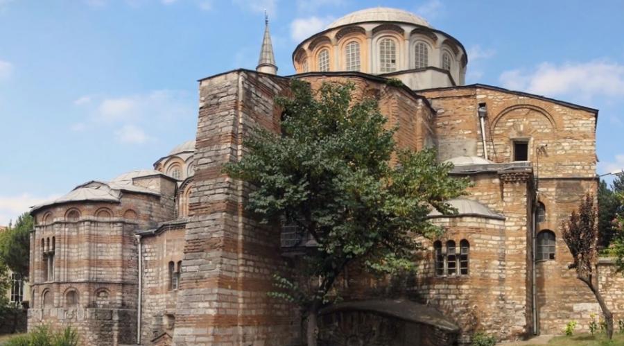 După Hagia Sofia, și biserica Sfântul Mântuitor din Chora este transformată în moschee