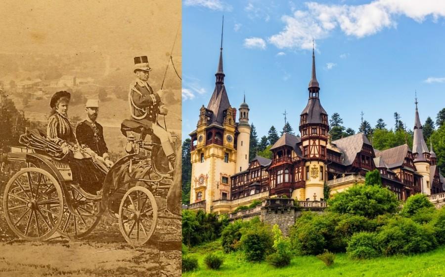 În urmă cu 145 de ani se punea piatra de temelie a Castelului Peleș, în prezența Principelui Suveran Carol I și a Principesei Elisabeta