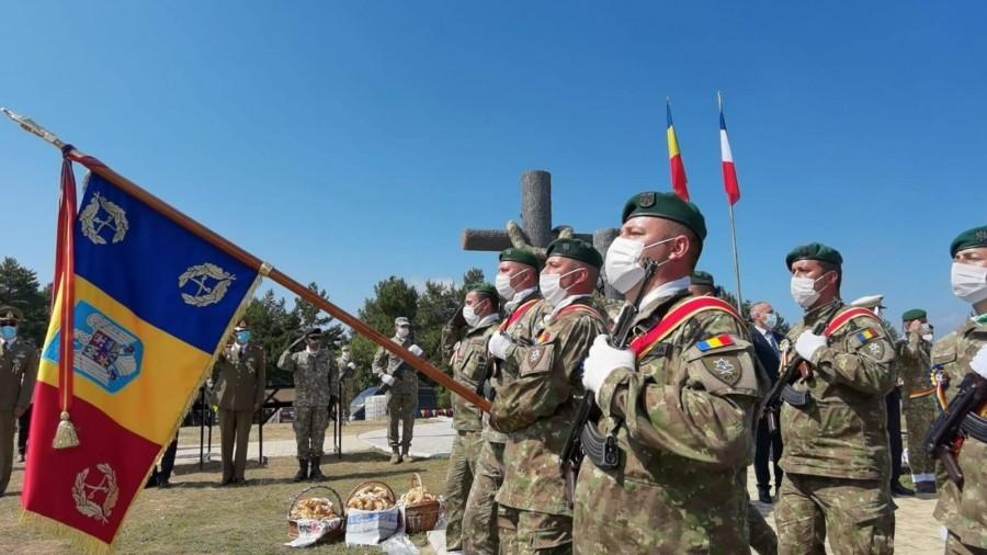 Eroii Războiului de Reîntregire, comemorați pe Dealul Coșna