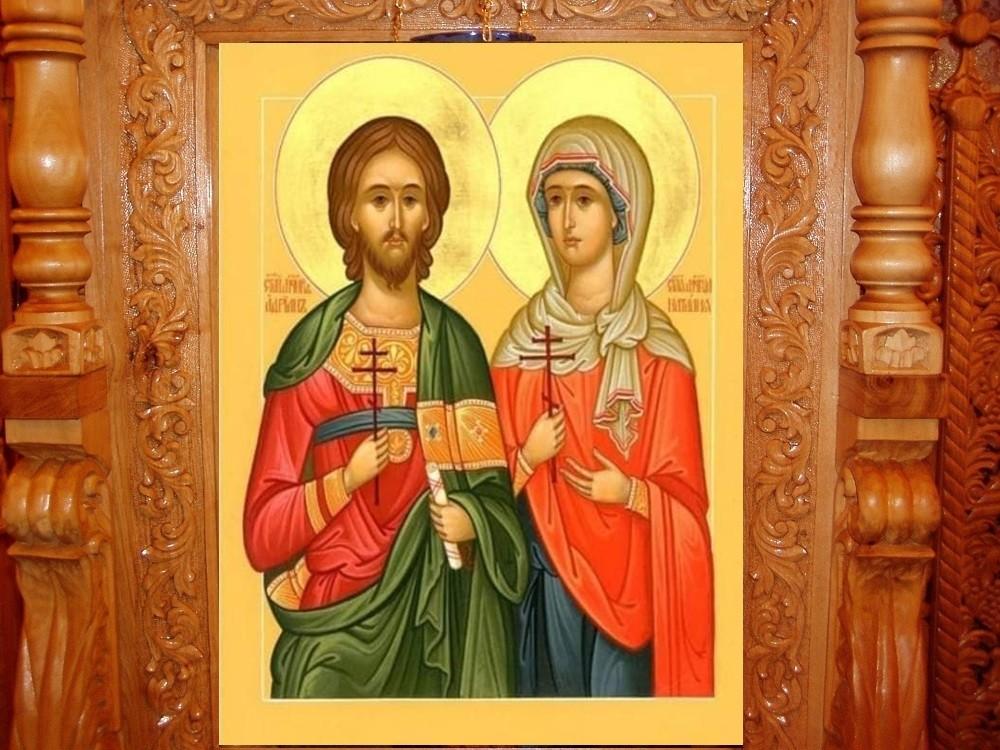 Sfinții Adrian și Natalia, neînvinși mucenici ai lui Hristos
