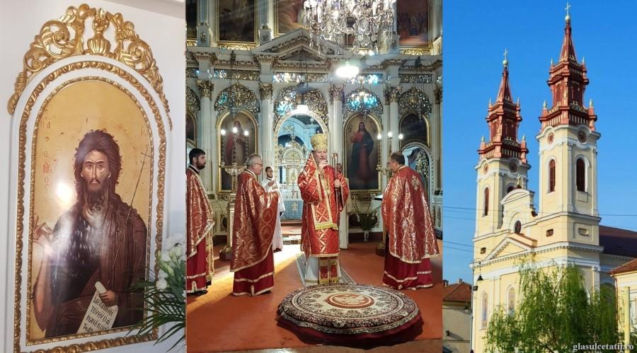 Tăierea capului Sfântului Ioan Botezătorul. Liturghie Arhierească la Catedrala Veche din Cetatea Aradului