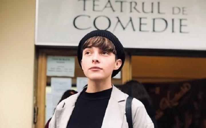 Bianca Temneanu a câștigat Marele Premiu al Galei Tânărului Actor -HOP