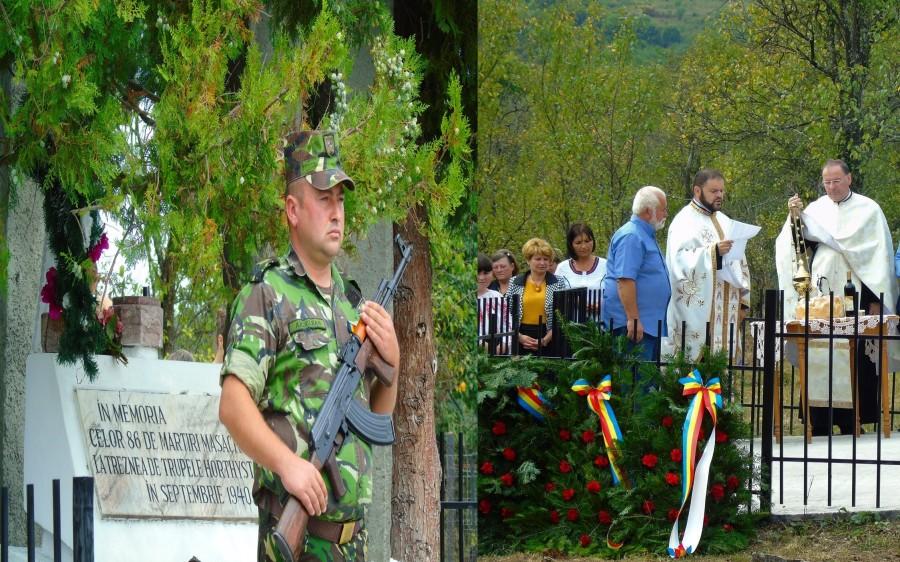 Martirii de la Treznea, comemorați la 80 de ani de la masacrele horthyste din Transilvania