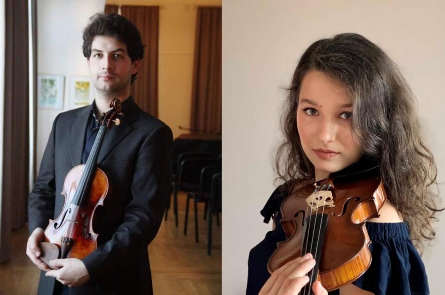Valentin Șerban și Maria-Alexandra Bobeico, calificați în etapa a II-a a secțiunii de Vioară de la Concursul Enescu 2020