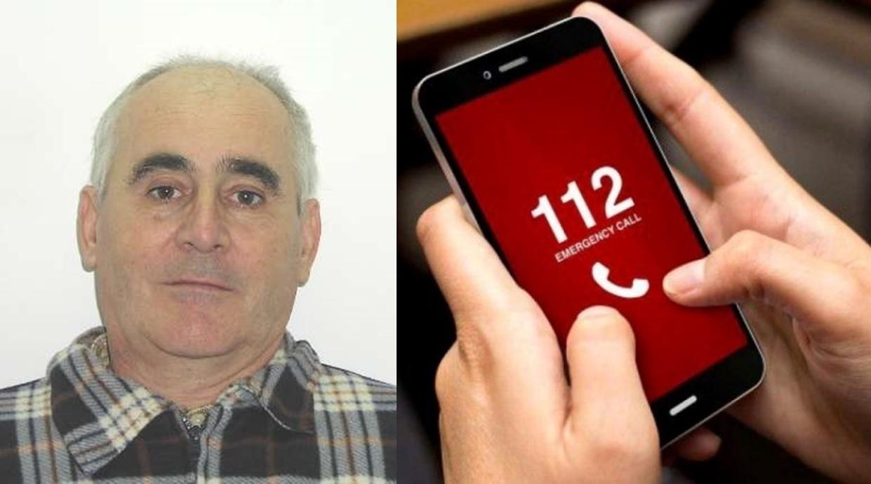 Are 66 de ani și a dispărut din Târnova. Dacă îl vedeți, sunați la 112!