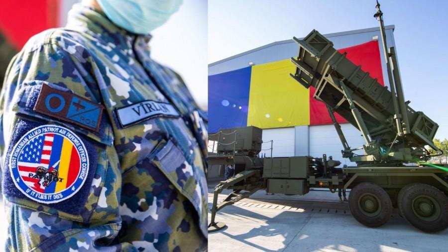 Primul sistem de rachete sol-aer PATRIOT a ajuns în România. Ceremonia de recepție a avut loc astăzi